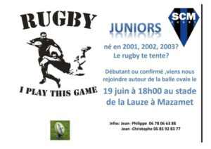 Juniors recrutement