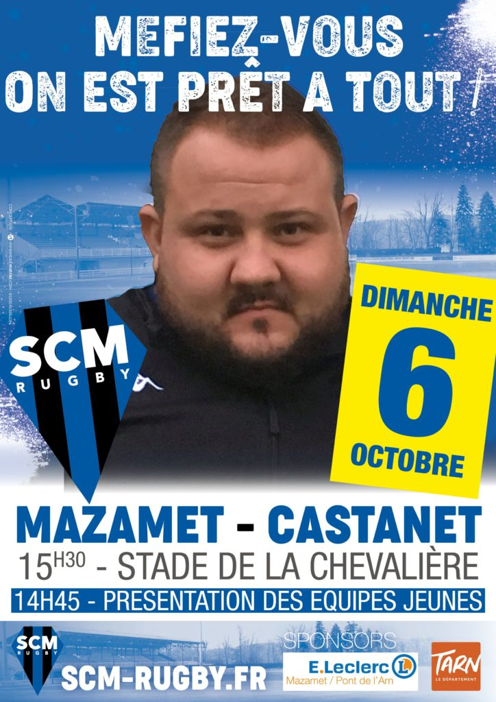 Match 6 octobre 2019